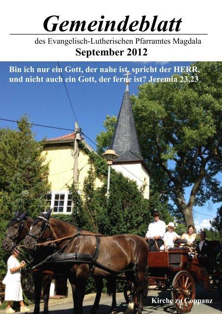 Gemeindeblatt September 2012.pub - Kirchspiel Magdala/Bucha
