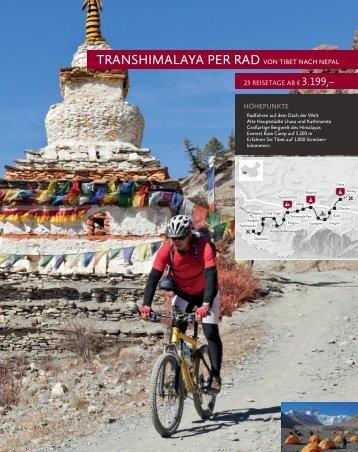 tRANSHIMALAYA PeR RAD vON tIBet NACH NePAL - China Tours