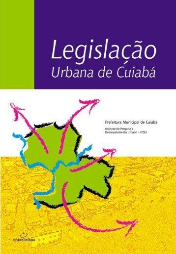 Legislação urbana legislacao_urbana.pdf - Prefeitura de Cuiabá