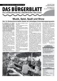 de für den diesjährigen Dreisam - Bürgerverein Oberwiehre-Waldsee