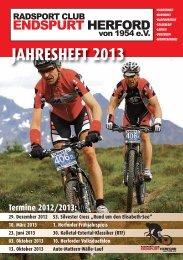 Neu ab 2013!!! - RC Endspurt Herford