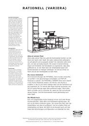 RATIONELL (VARIERA) - Ikea
