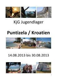 Puntizela / Kroatien - KjG St. Kilian