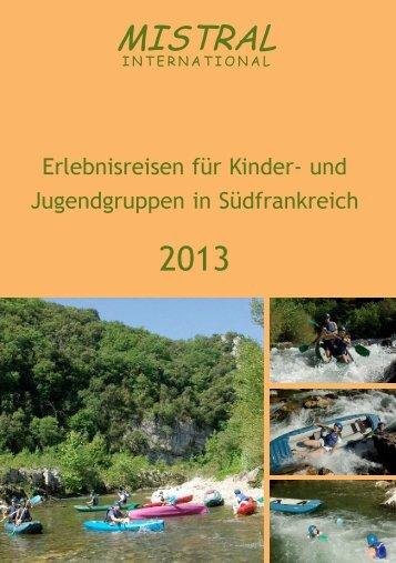Gesamtkatalog 2013 - Mistral-International