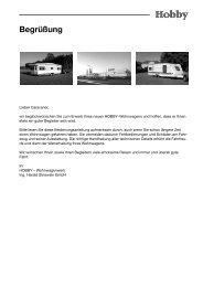 PDF; 4,85 MB - Hobby Caravan
