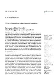 Burg Rheinstein': Herausforderung pro Burg- und Weingeisterfusion