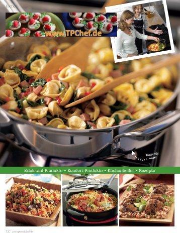 edelstahl-Produkte • komfort-Produkte • küchenhelfer • rezepte