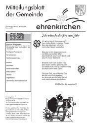 Ich wünsche dir fürs neue Jahr - Gemeinde Ehrenkirchen
