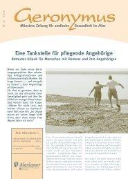 Eine Tankstelle für pflegende Angehörige - Alexianer Münster