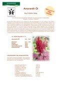 Amaranth Öl Das Gold der Inka - SLI Chemicals GmbH - Seite 2
