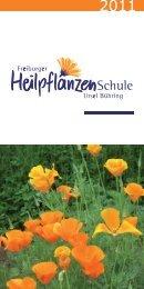 Anmeldung - Freiburger Heilpflanzenschule