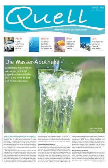 "Die Wasser""Apotheke - Pharmos Natur"