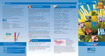 ERWACHSENENBILDUNG 1. HALBJAHR 2012