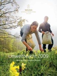 Umweltbericht 2009 - Weleda