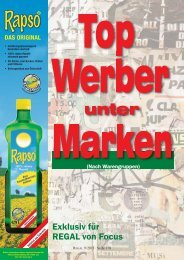 Top werber - Regal
