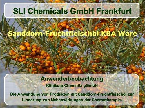 Folie 1 - SLI Chemicals GmbH