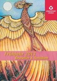 Frühjahr 2013 - Prolit Verlagsauslieferung GmbH
