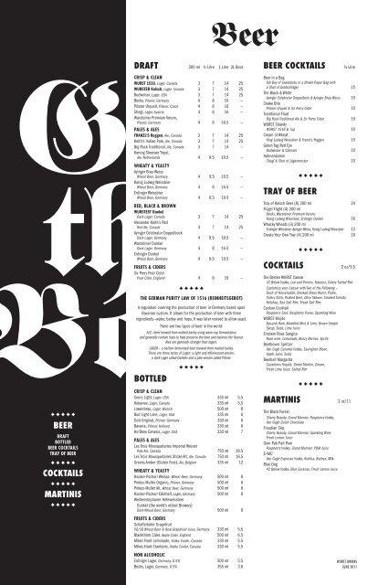cocktails - Wurst