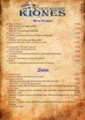 Warme Vorspeisen - Restaurant Kiones - Seite 3