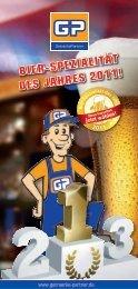 Bier-Spezialität deS JahreS 2011!