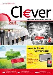 Das große Cl€ver- Gewinnspiel - Sparkasse Dortmund