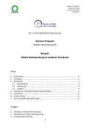 Business Proposal: Beispiel: Mobile Wohnberatung im Landkreis ...