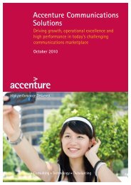 Accenture Communications Solutions