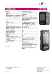 Mobiltelefon LG KS360 - LG Blog