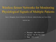 Wireless Sensor Networks for Monitoring Physiological Signals of ...