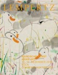 ASIATISCHE KUNST ASIAN ART 10./11. DEZEMBER 2010 KÖLN ...