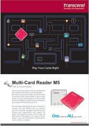 Multi-Card Reader M5 One - Transcend