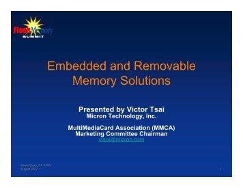 eMMC - Flash Memory Summit