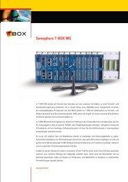 Semaphore T-BOX MS - Pericom AG