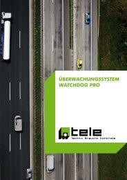 ÜBERWACHUNGSSYSTEM WATCHDOG PRO - TELE