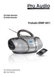 ProAudio-RRMP-6911 - E2 Fachhandels & Reparatur Servicecenter ...