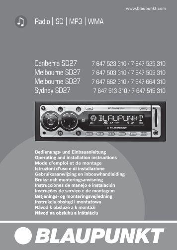 navigation radio cd travelpilot amsterdam nav 35e blaupunkt. Black Bedroom Furniture Sets. Home Design Ideas
