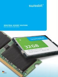 INDUSTRIAL MEMORY SOLUTIONS - Acal Technology