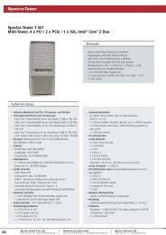 Spectra-Tower T 431 Midi-Tower, 4 x PCI / 2 x PCIe / 1 x ISA, Intel ...