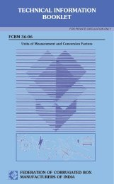 TECHNICAL INFORMATION BOOKLET - FCBM