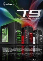 Die neuen Value-Modelle des T9 ATX-Gehäuses ... - Sharkoon