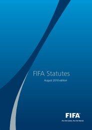 The FIFA Statutes (2010) - FIFA.com