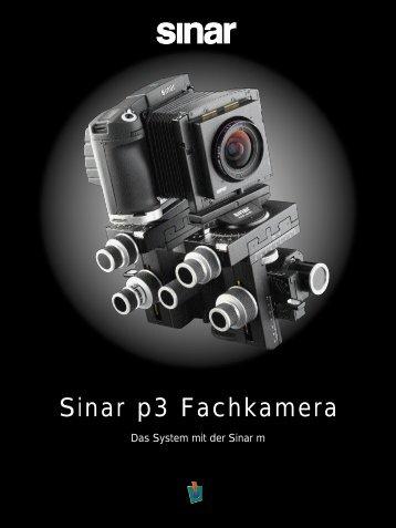 Sinar p3 Fachkamera - Matrix CZ