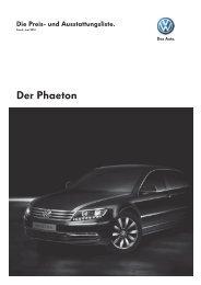 Der Phaeton - Auto Bergmann AG