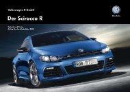Scirocco R Preisliste laden (pdf. 1MB) - Autohaus MAX Waldstraße