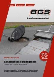 Schachtdeckel-Hebegeräte - BGS Bau Guss AG