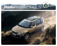 ŠkodaRoomster Scout - Skoda