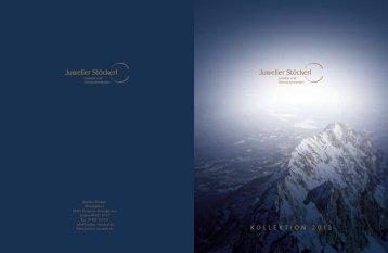Jahreskatalog 2012 - Juwelier Stöckerl Garmisch