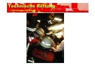 """Das """"Lenkrad ziehen"""" - bei der Freiwilligen Feuerwehr Bindsachsen!"""
