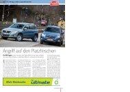 VW Tiguan 2.0 TDI vs. Toyota RAV4 2.2 D-4D - AUTO aktuell