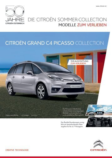 CITROËN GRAND C4 PICASSO ColleCtion